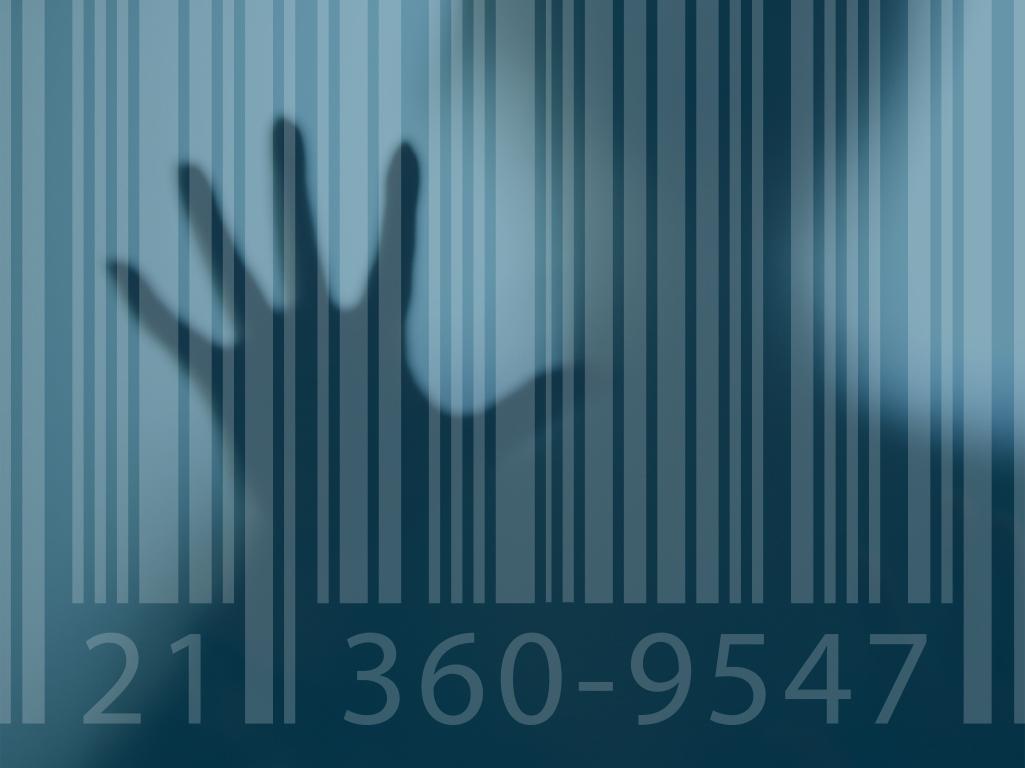 Hand Barcode Image